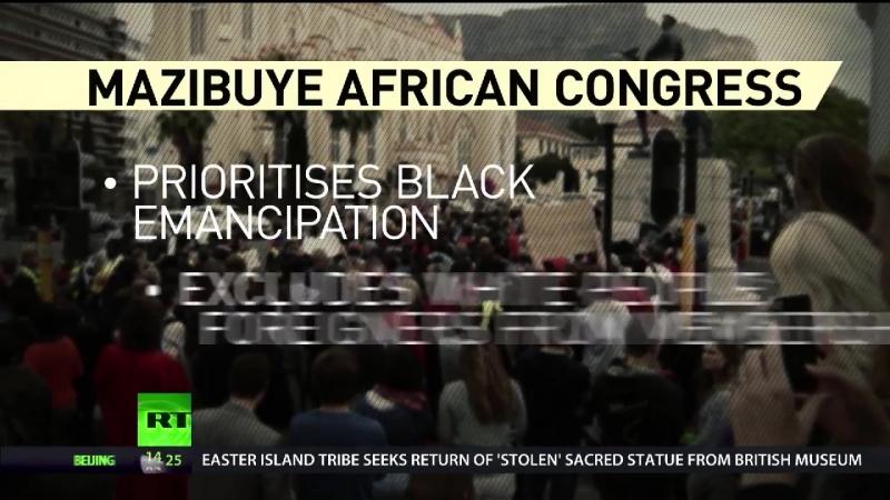 Südafrika: Politische Partei nur für Schwarze geht an den Start