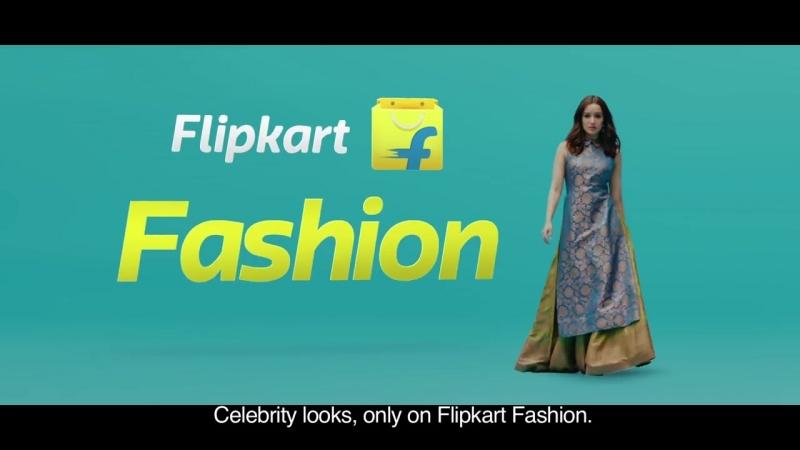 Шраддха в рекламе «Flipkart»