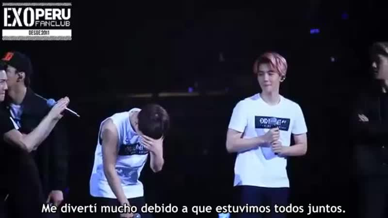 [SUB ESP] 15/10/17 - Baekhyun @ EXO Planet 2 The EXO'luXion en Guangzhou - Ment y Abdominales.