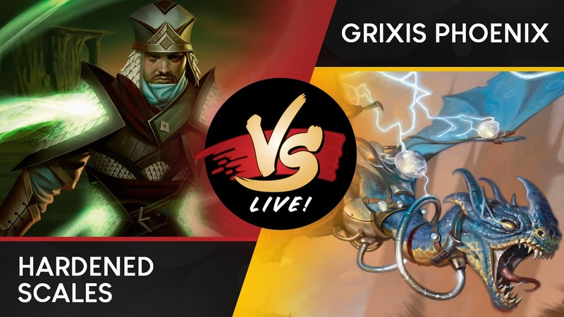 VS Live! | Hardened Scales VS Grixis Phoenix | Modern | Match 3
