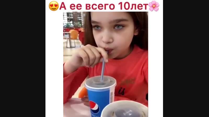 Ей всего 10 лет ❤️😍🚀🔥