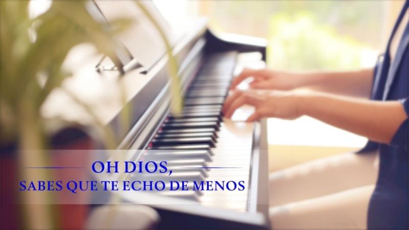 La mejor música cristiana Oh Dios sabes que te echo de menos Estar dispuesto a dedicarse a Dios