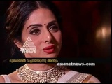 Asianet News Archives Interview with Actress Sridevi