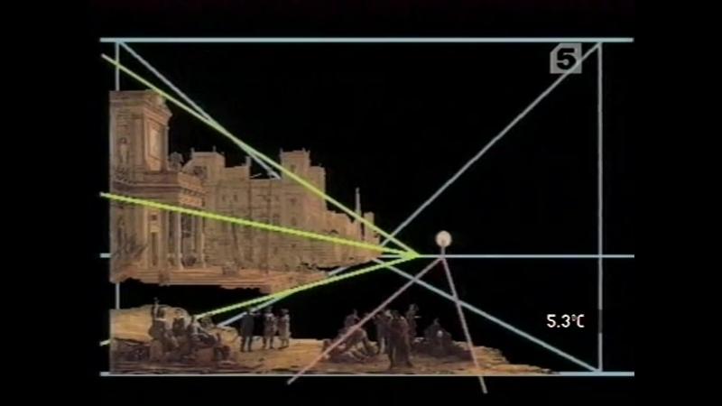 Палитры 6 серия Театр солнца. «Морская гавань при заходе солнца»Клода Лоррена