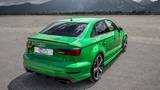 CRAZIEST color on the 2018 AUDI RS3 SEDAN (400hp480NM,5Cyl) - Viper green metallic, Black op