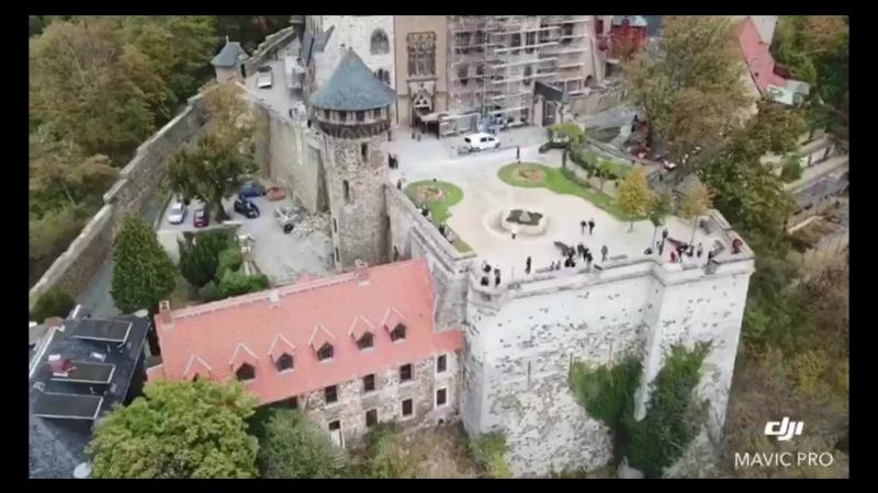 DJI Mavic Pro! Germany, Wernigerode Castle Германия, Замок Вернигероде!