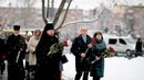 Покладання квітів до пам'ятного знаку «Воїнам Чорнобиля».