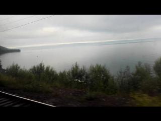 #Байкал #утро #видизокна #поезд #едем