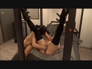 Fisting orgasms in bondage [фистинг, fisting, extreme pussy insertion, gape, домашнее порно]