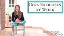 10-минутная растяжка за столом для энергичности, осанки и гибкости. Desk Exercises at Work - 10 Minute Desk Stretches For Energy, Posture and Flexibility!