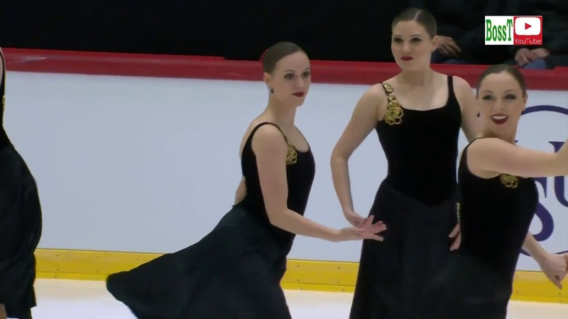Team NEXXICE Can SP Results Synchro WC 2019