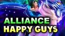 ALLIANCE vs HAPPY GUYS World Showdown of Esports DOTA 2