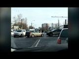 Accident pe strada Miori
