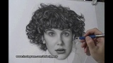 Realism Portrait Drawing Of Millie Bobby Brown