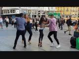 Timba cubana l Madrid Timbera bailando salsa cubana