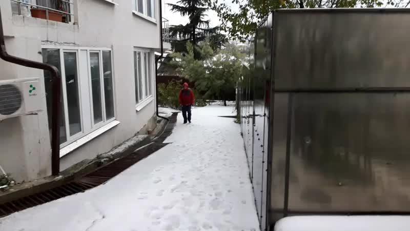 Зимняя утренняя пробежка в Сочи