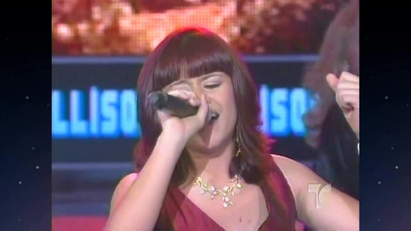 Allison Iraheta - Kiss and Say Goodbye (Quinceañera, 2006-7)