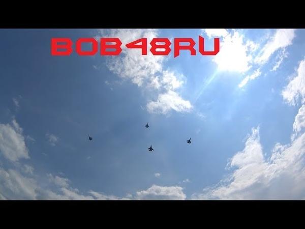 Соколы России это прекрасно В рамках празднования 100 летия Липецкой военной авиации