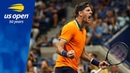 Juan Martin del Potro Holds Court vs Fernando Verdasco In Arthur Ashe 2018 US Open