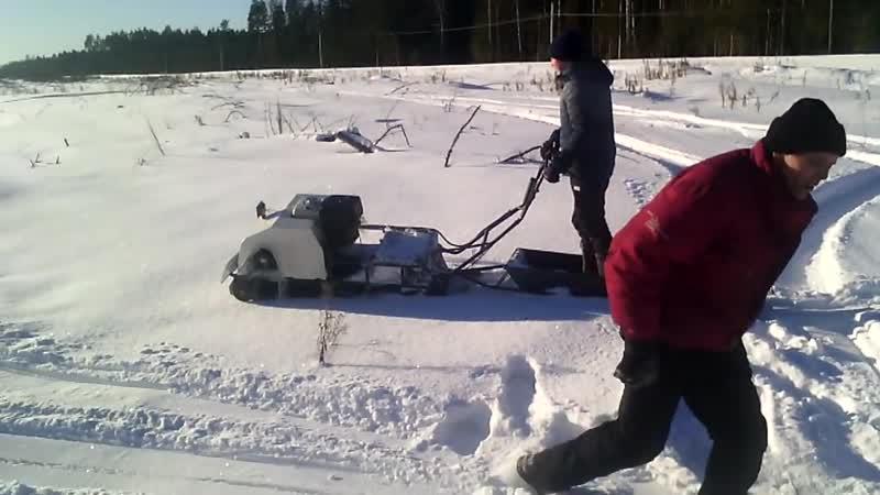 Мотобуксировщик ВЕПС из Рыбинска