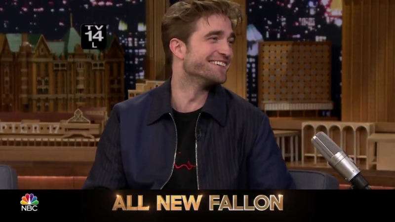 Promo: The Tonight Show Starring Jimmy Fallon with Robert Pattinson