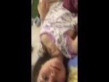 Студентка показывает сиськи в перископе и просит подписываться на её инсту