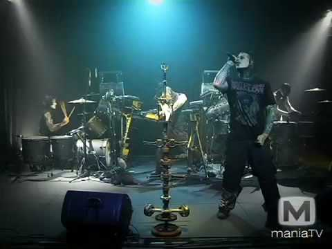 Combichrist Get Out Of My Head Live on Mania TV