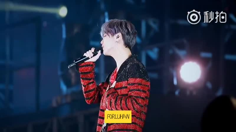 [FANCAM] 181013 Luhan - 勛章 (Medals) @ 2nd Concert Tour RE:X in Hangzhou