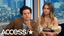Cole Sprouse On His Moving Tribute To Luke Perry: 'A Lot Of People Loved Luke' | Access