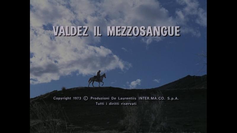 Лошади Вальдеса / Valdez, il mezzosangue 1973