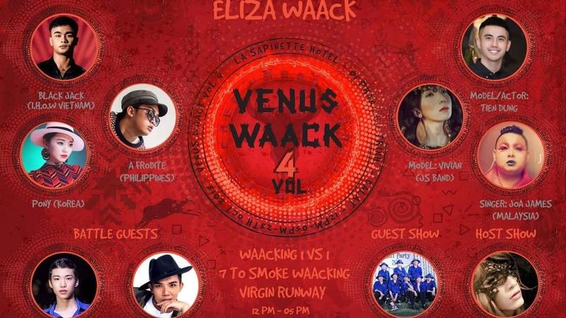 Venus Waack Vol 4 Waacking Judge show Afrodite Philippines Dalat city Viet Nam