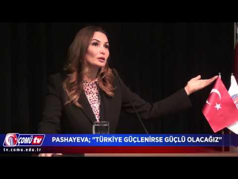 Azerbaycan Milletvekili Pashayeva Türkiye Güçlenirse Güçlü Olacağız