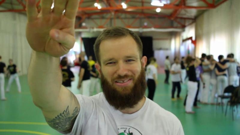 MOTIVATIONAL SPEECH FROM INSTRUTOR SUA / Capoeira Ache Brasil Academy