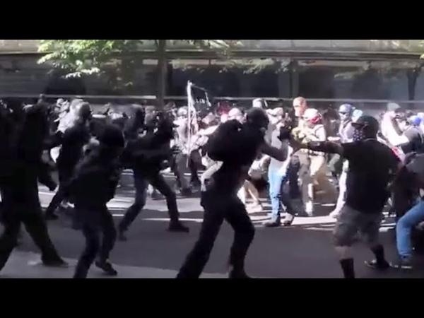 Antifa Battle of portland short music video Tenacious D
