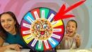 КРЕЙЗИ РУЛЕТКА Пицца ЧЕЛЛЕНДЖ Mistery Wheel of Pizza Challenge Вики Шоу