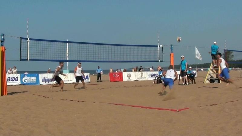 Beach volley Russia Solnechnoe 2018 M 01 Vasilevsky-Firsov and Bolgov-Ermilov