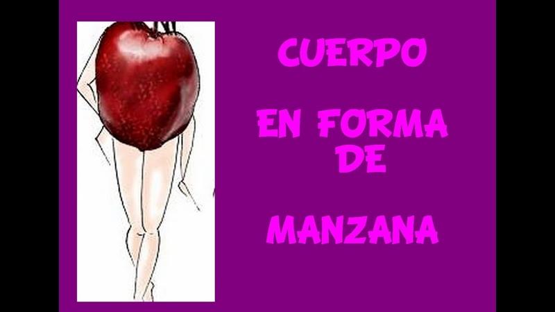 Cuerpo en forma de manzana