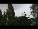24.06.2018 г. Липецк, Конкретный тропический ливень с грозой и сильным ветром после 35-градусной жары.😄👍👍👍⛅💦⚡⚡⚡