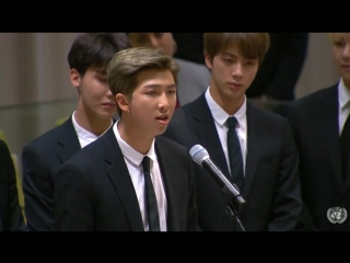 180924 bts speech @ 73rd session of the un general assembly: launch of un youth strategy