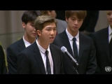 180924 BTS Speech @ 73rd session of the UN General Assembly Launch of UN Youth Strategy