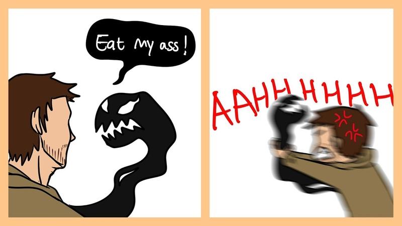 Funny Venom Comics Venom And Eddie