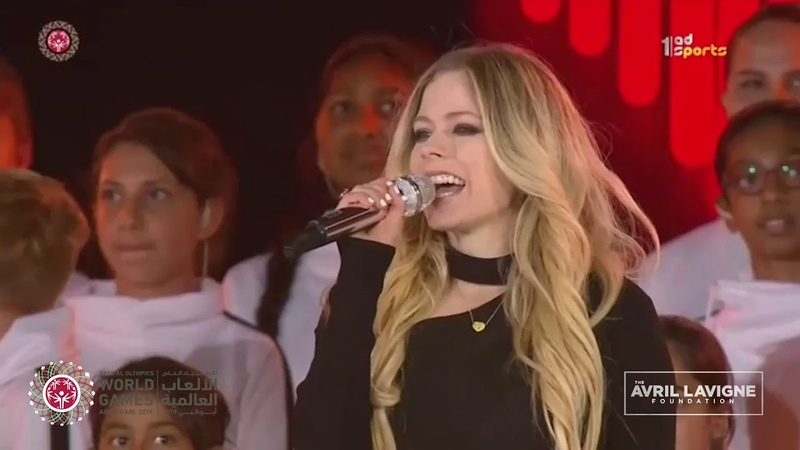 Avril Lavigne Foundation - Special Olympics Opening Ceremonies
