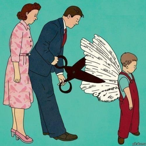 Семь смертных грехов, которым родители учат детей: