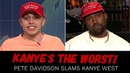 Pete Davidson Disgusted By Kanye West On SNL