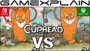 Cuphead Graphics Comparison (Nintendo Switch vs. Xbox One)