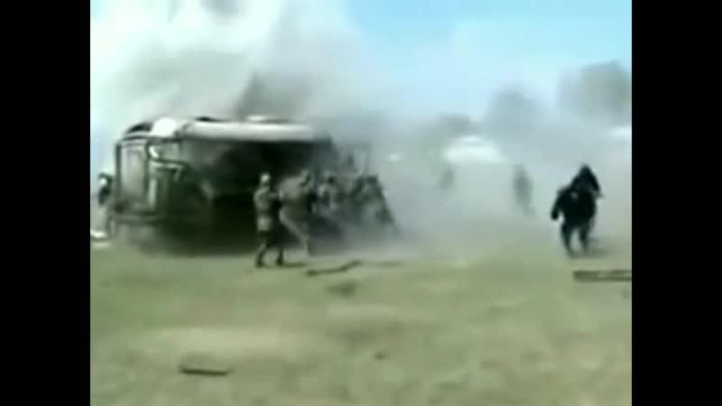 взорвал автобус палкай