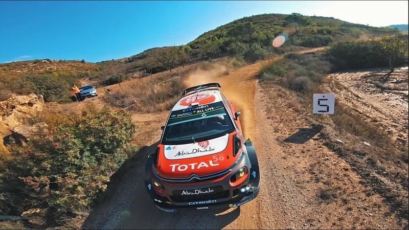 FPV RACER DRONE VS SEBASTIEN LOEB WORLD CHAMPION WRC Rally PART 1