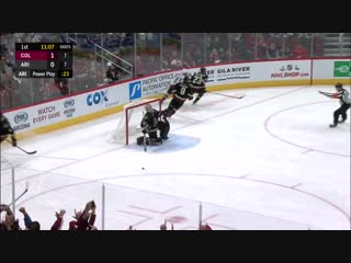 J.T. Compher Scores Two On The Same Penalty Kill