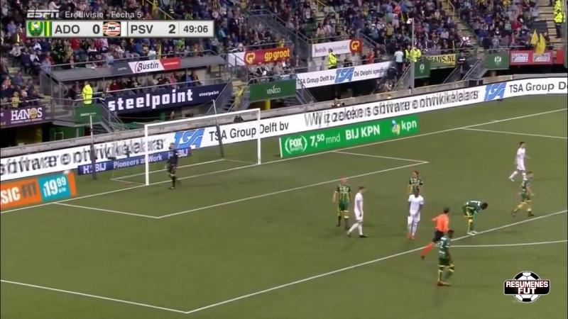 ADO Den Haag vs PSV 0-7 Resumen Goles 15_09_2018