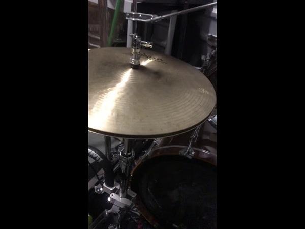 Zildjian 15 K Constantinople Prototype Hi Hats Drum Cymbals